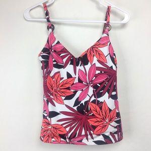 Kechika Floral Tankini Swim Suit Top